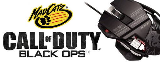 Accesorios de Call of Duty: Black Ops para PC y Consolas de Mad Catz