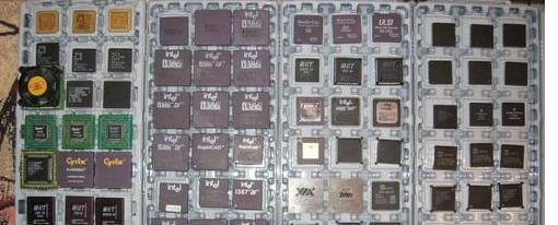 La mayor colección de CPUs