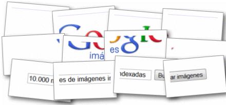 Rediseño de Google Imágenes celebrando las 10.000 millones de imágenes indexadas