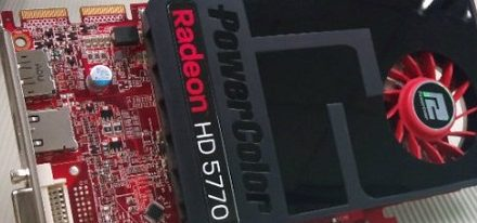 PowerColor presenta su nueva Radeon HD5770 Single Slot