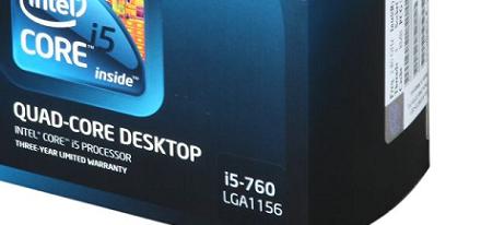 Los nuevos Intel Core i5 760 y Core i7 970 a la venta en EEUU