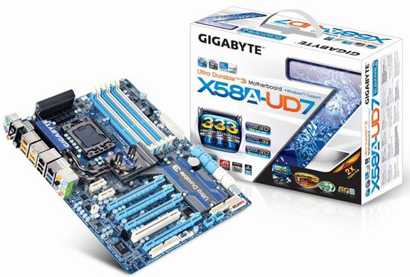 Review: Gigabyte GA-X58A -UD7