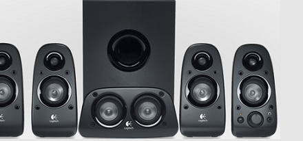 Sistema de sonido 5.1 Z506 de Logitech