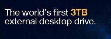 Seagate presenta el primer disco externo de 3 TB