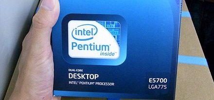 Aparece el nuevo procesador Intel Pentium E5700