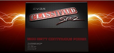 EVGA lanza su fuente de poder Classified SR2 de 1200W
