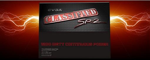 EVGA lanza su fuente de poder Classified SR2 de 1200W