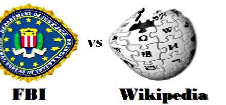 El FBI exige que sea retirado su sello de Wikipedia