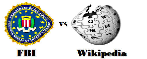El FBI exige que sea retirado su sello de Wikipedia