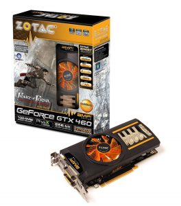 ZOTAC GTX460 AMP!