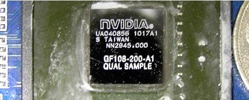 Fotografiado el GPU108