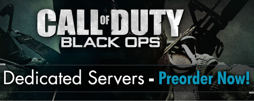 Servidores dedicados para Call of Duty: Black Ops