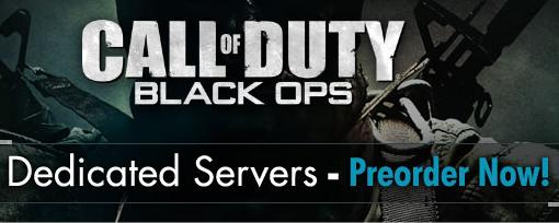 Servidores dedicados para Call of Duty: Black Ops