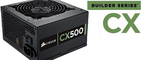 Corsair introduce su nueva linea de fuentes de poder Builder Series CX
