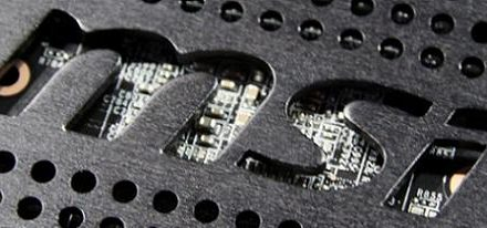 MSI presento su N480GTX Lightning en la MSI MOA 2010