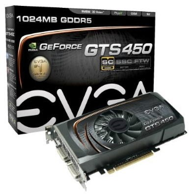 EVGA GeForce GTS450 SC
