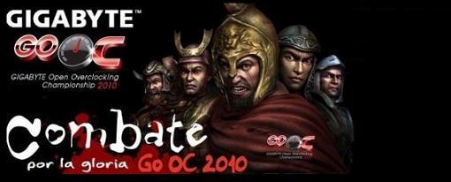 El Gigabyte GO OC 2010 ya tiene ganador