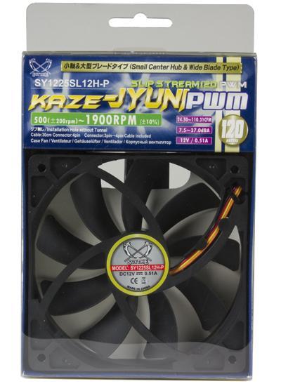 Slip Stream 120 PWM High-RPM de Scythe
