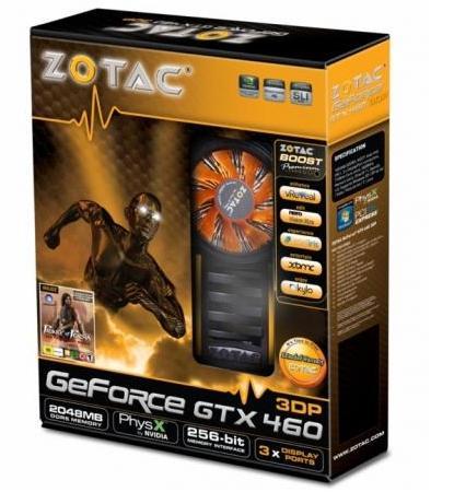 Zotac GTX460 3DP