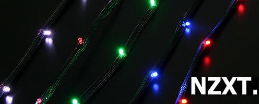 NZXT presenta su Sleeved LED Kit