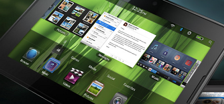 RIM hace oficial su Tablet PlayBook