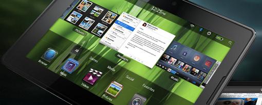 RIM hace oficial su Tablet PlayBook
