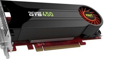 Primera GeForce GTS450 low-profile de la mano de Palit