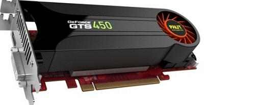 Primera GeForce GTS450 low-profile de la mano de Palit