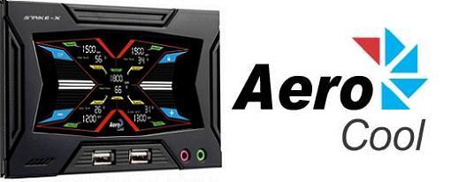 AeroCool lanza su controlador tactil Strike-X Panel