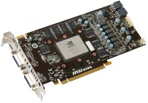 MSI N460GTX HAWK 1 GB
