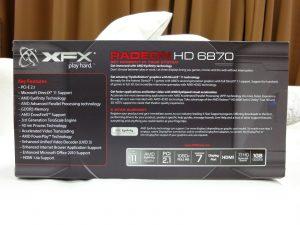 AMD Radeon HD6870 XFX