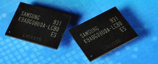 Samsung comienza a producir chips NAND flash de 64Gb a 20nm