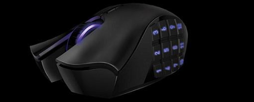 Razer lanza una versión inalámbrica de su mouse Naga