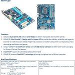 Especificaciones Gigabyte P67A-UD3