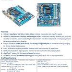 Especificaciones Gigabyte H67MA-UD2H