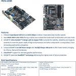 Especificaciones Gigabyte P67A-UD3R