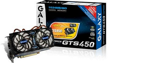 Galaxy presenta su GeForce GTS 450 Hall of Fame