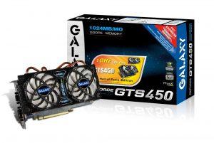 Galaxy GeForce GTS 450 Hall Of Fame