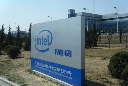 Planta de Intel en Dalian, China Fab-68