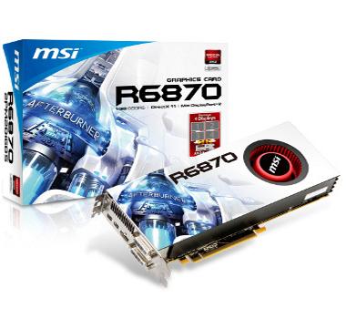 MSI Radeon HD 6870