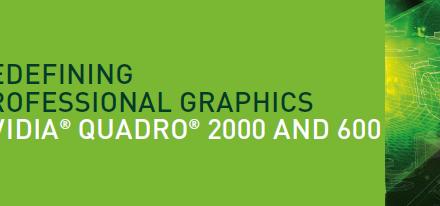 Otras 2 nuevas Nvidia Quadro basadas en Fermi