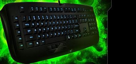 Razer presenta el Anansi su nuevo teclado para juegos