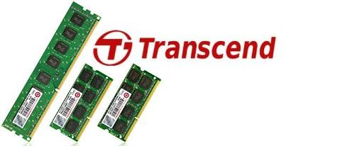 Transcend lanza modulos de memoria DRAM de alta densidad con chips de memoria DDR3 2Gbit