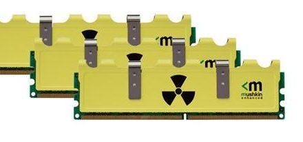 Nueva serie de memorias DDR3 Radioactive de Mushkin