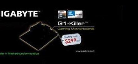 Nueva serie de tarjetas madres Gigabyte G1-Killer para el CES 2011