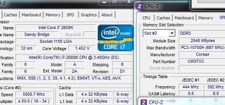Intel Core i7 2600K llevado hasta los 5 GHz