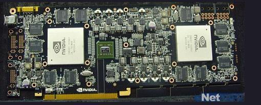 Filtrada imagen del PCB Dual-GPU de la Nvidia ' GTX 595 '
