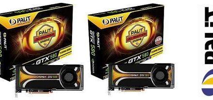 Palit presenta dos modelos de la GeForce GTX 580