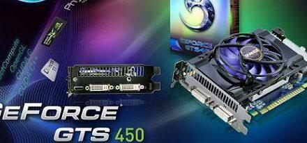 Sparkle amplia su oferta con una nueva GeForce GTS 450