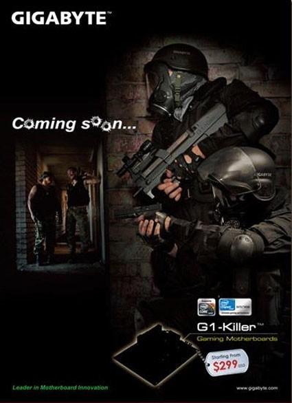 Poster Gigabyte G1-Killer